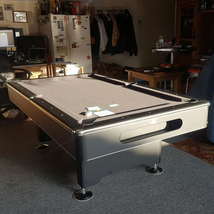 Exceptional 7 Ft Blackhawk Pool Table With Charcoal Felt Move From Anaheim Coronado  Palms To Rancho Santa