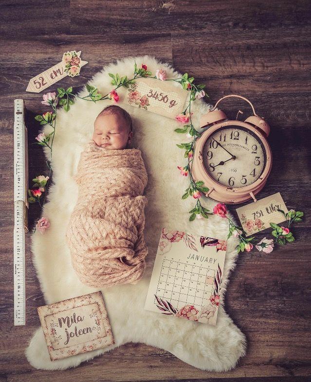 Geburtsverkündung – Baby – #Baby #Geburtsverkündung