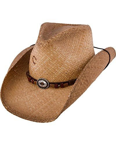 8dd496d6534 Charlie 1 Horse Women s Divide Soft Raffia Straw Hat with Leather Band