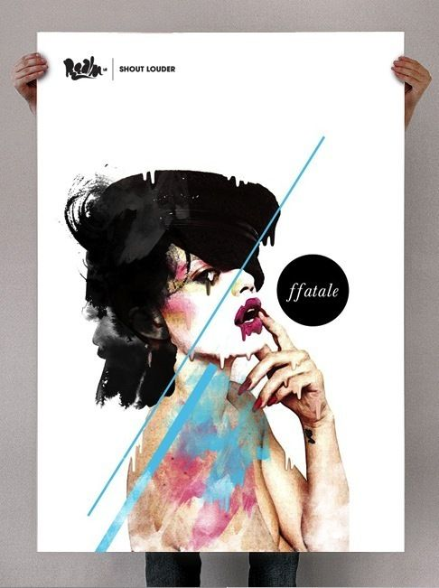 Prints by Cesar Leal, via Behance