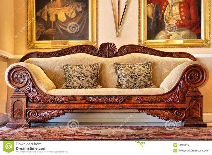 Schön antikes sofa