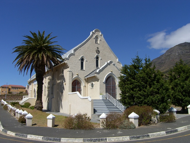 The only church left standing after the Removals in District 6 Cape Town 1960's