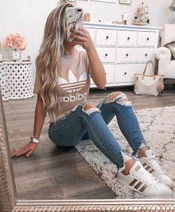 10 süße und trendige Outfit-Ideen für Teenager: So sehen Sie stilvoll aus #ideen #outfit #se…