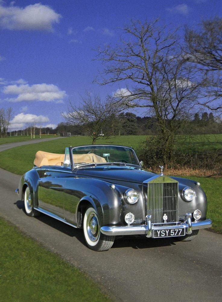 "silver-shadow-crewe: ""1962 Rolls-Royce Silver Cloud II Drophead Coupe adaptation by H.J. Mulliner """