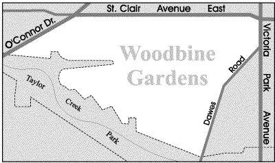 Toronto Neighbourhood Guide - Woodbine Gardens - Neighbourhoods