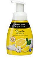 Puuvillasitruuna | Hellävarainen saippuavaahto | Lemon Juice & Glycerine