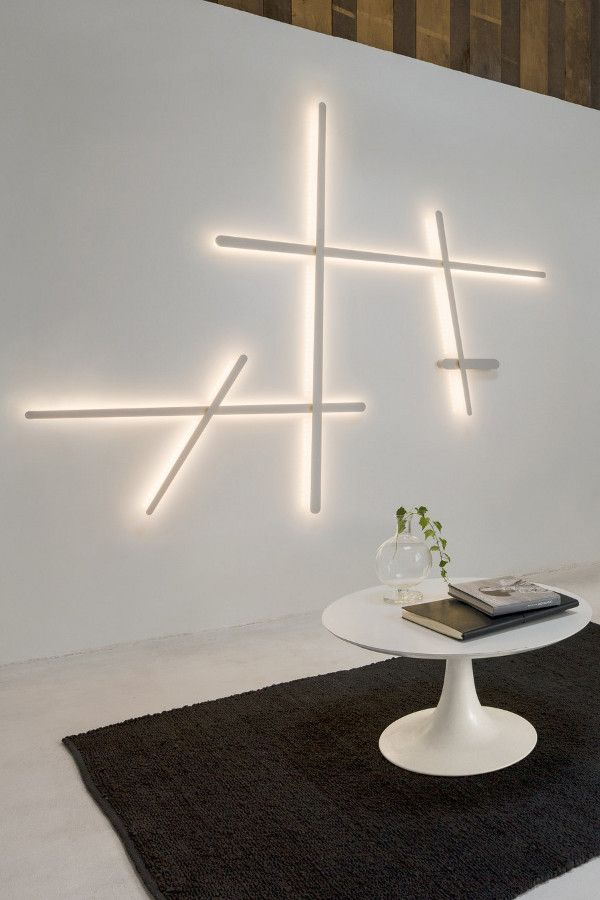 Contemporary style polycarbonate wall #lamp SPARKS 1705 by Vibia | #design Arik Levy @vibialight
