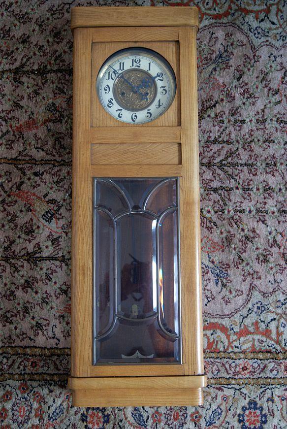 Antiker Regulator UM 1900 2 Gewichtig Gewichter Halber Stunden Schlag   eBay