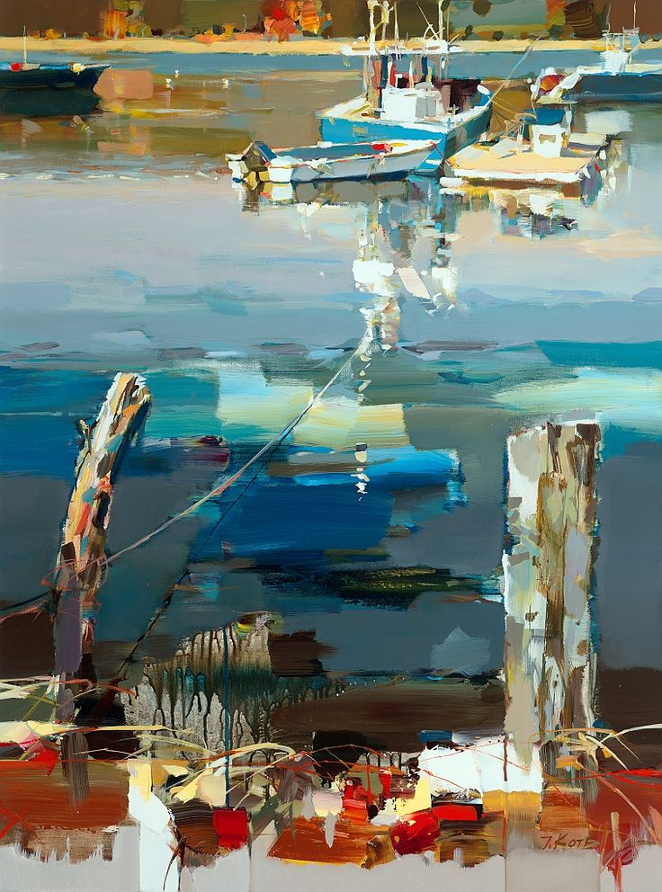 '' COLD SPRING HARBOR '' by Josef Kote