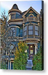 San Francisco Victorian Photograph by Paul Owen - San Francisco Victorian Fine Art Prints and Posters for Sale