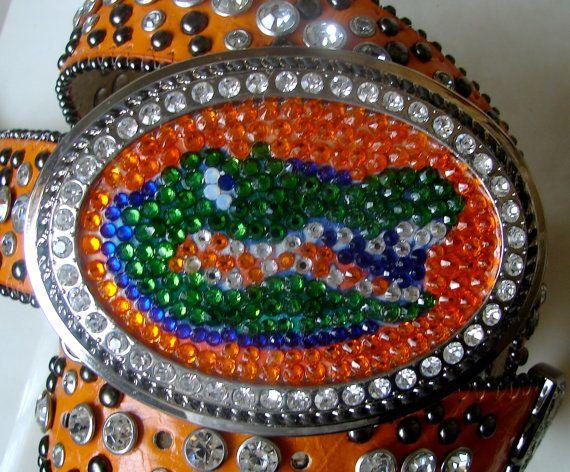 Florida Gators Belt Buckle