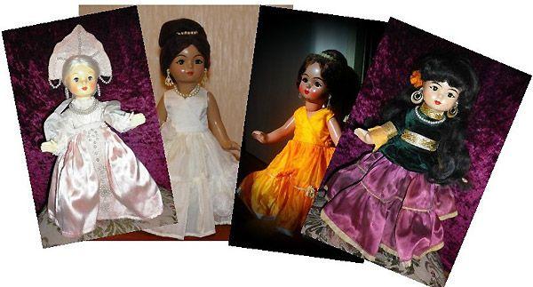 Винтажные куклы Ивановской фабрики СССР