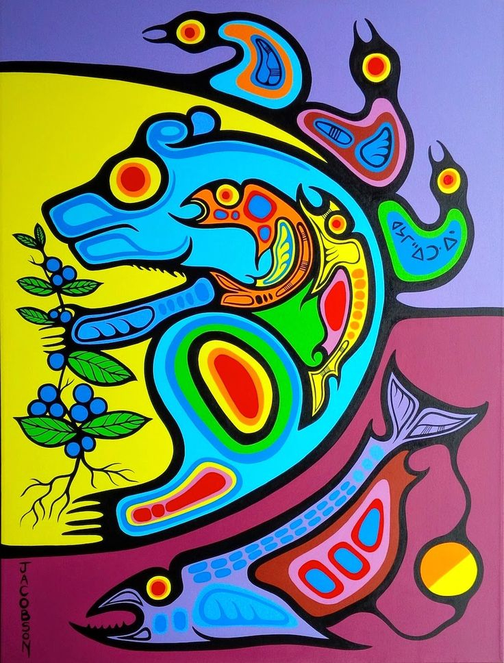 Title of painting: Bear Medicine - Nourishment of the Soul