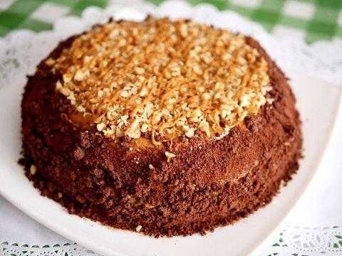 Быстрый торт со сгущенкой - lublugotovit.me