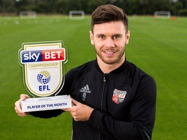 Newcastle United 'told to pay £15m for Brentford ace Scott Hogan'