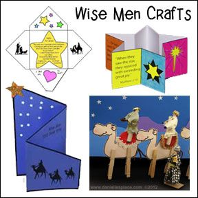 411 best images about sunday school crafts on pinterest for Three wise men craft
