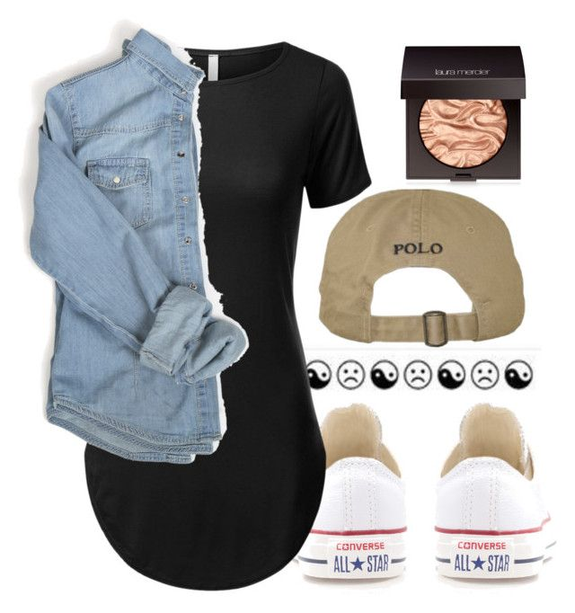 """""""Trip"""" by macprincess722 on Polyvore featuring Converse and Laura Mercier"""