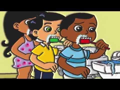 O DENTINHO CONTENTE. Música infantil educativa sobre saúde e higiene bucal. - YouTube