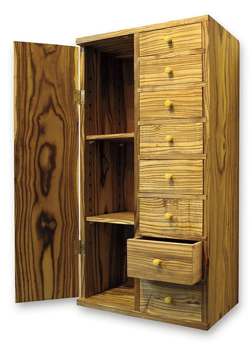 Sumac Cabinet With Local Wood By Jason Breen, A Member Of The Guild Of  Vermont Furniture Makers.