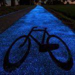 A Mesmerizing Glow-in-the-Dark Bike Path Unveiled in Poland