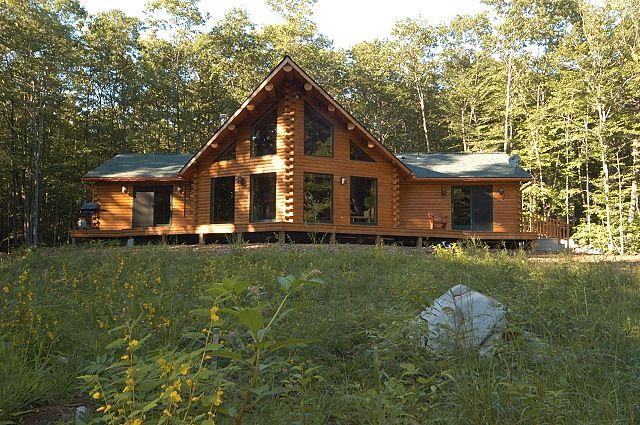 Ward Cedar Log Homes | Log Home Gallery - Custom Cedar Log Homes