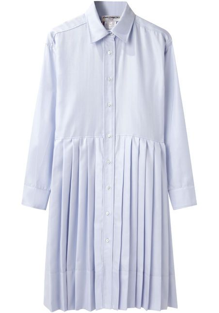 Charles Anastase Holly Pleated Dress
