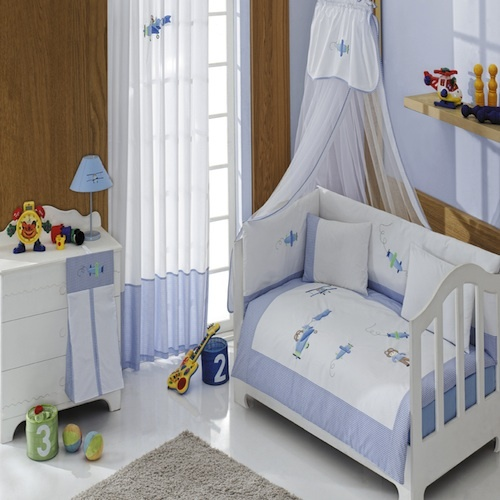 Little Pilot-Baby Bedding Set