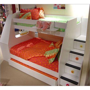 avec un escalier d 39 acc s et des tiroirs de rangement dans l 39 escalier chambre gazouillis. Black Bedroom Furniture Sets. Home Design Ideas