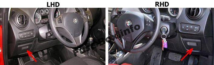 Alfa Romeo Mito 2014 2015 2016 2017 Fuse Box Location Alfa Romeo Mito Fuse Box Mito