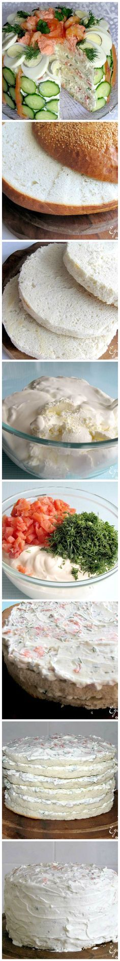 Cake salados