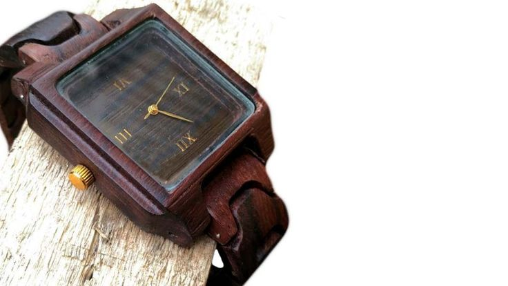 Wooden Watches // wood watch // Bhadra wooden watch // Wooden watch for men woman // from natural 100% wood by BhadraWatch on Etsy