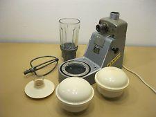 Alte DDR Komet Nr. 7038 3 Küchenmaschine - mit Zubehör