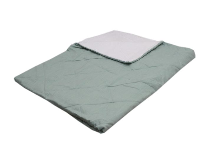 babyblanket Fabs World  #stitched #quilted #mint #Fabs Wold #double layers  shop:Fabs Store