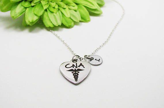 CNA Necklace - Nurse Necklace - Nursing Student - Nursing Necklace - Gift for Nurse - Nursing Gift - CNA Gift, Medical Necklace - Graduation
