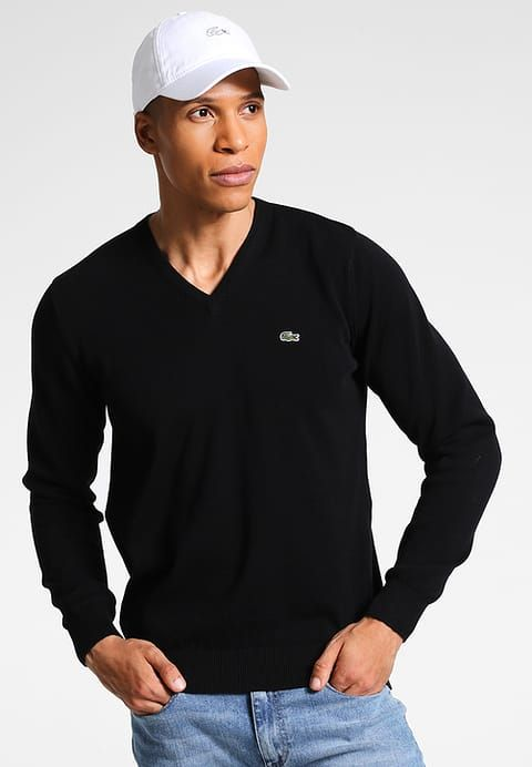 Vêtements Lacoste Pullover - noir noir: 119,95 € chez Zalando (au 01/10/17). Livraison et retours gratuits et service client gratuit au 0800 915 207.