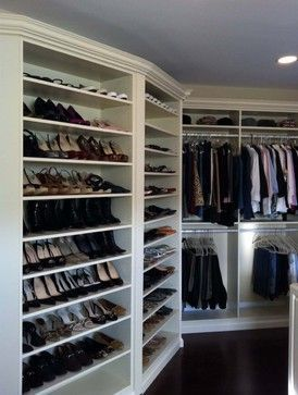 Storage & Closets Photos Master Bedroom Closet Design, Pictures, Remodel, Decor and Ideas - page 185 #home #decor