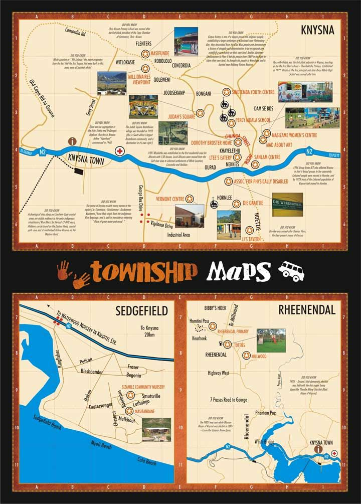 Community Maps - Knysna Living Local