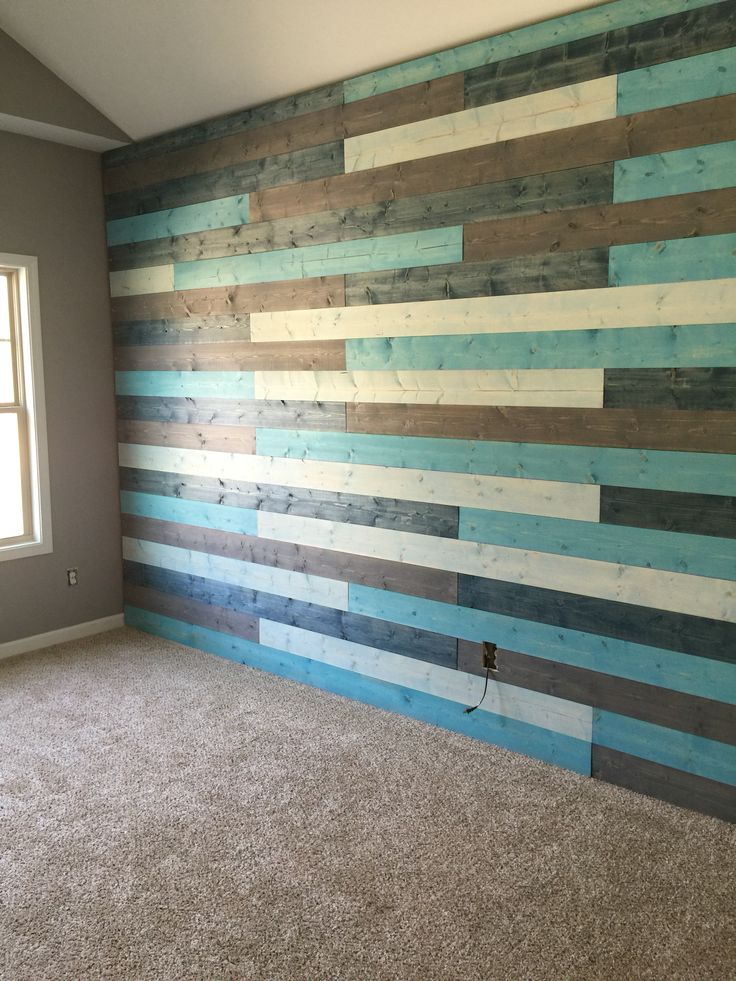 Nursery ship lap wall