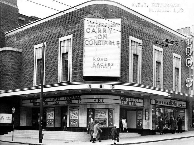 ABC Cinema, Chapel Bar, Nottingham circa 1950. I saw Jaws here when I was 12.