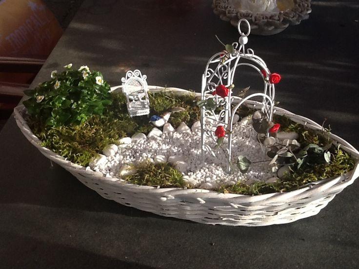 """Miniatur Garten """"DER ROMANTIKER"""" Miniatur Gärten Oberberg"""""""