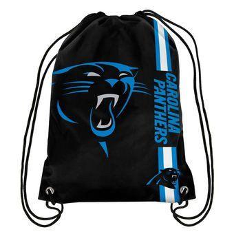 NFL Carolina Panthers Drawstring Backpack – 460 Sports