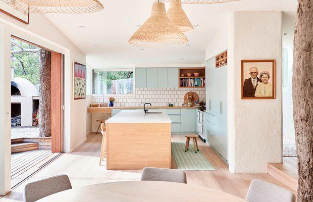 74 best cocinas images on pinterest kitchen dining - Cocina exterior ...