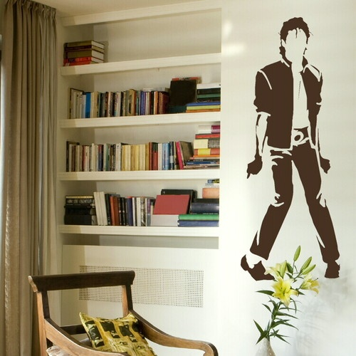 Large Michael Jackson Wall Stickers Wall Decals Big Wall Stickers BN44 | eBay