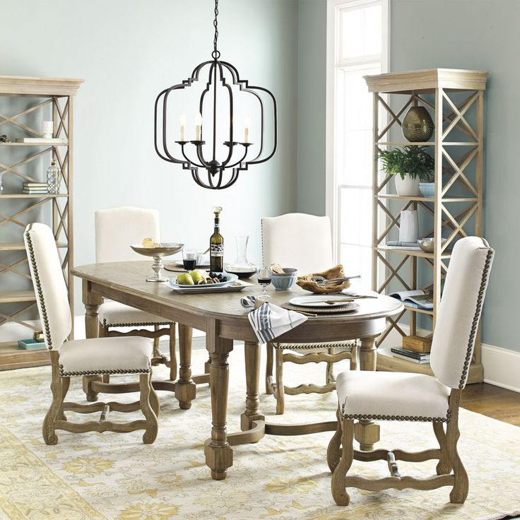 Our Katherine Geometric Chandelier Is The Centerpiece Of This Elegant  Dining Room.