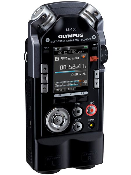 60 tech & toy gifts that guys actually want. Olympus LS-100 Audio Recorder /// $399