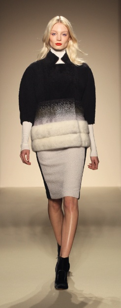 Ombre fur for fall - Gabriele Colangelo