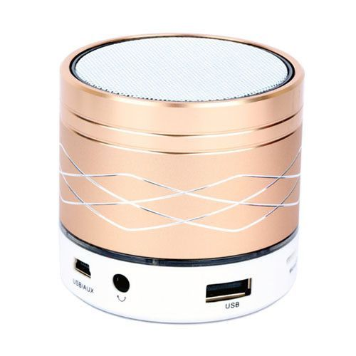 Mini Bluetooth USB Flash Disk Sound Card Multi-Function Colorful LED Portable Wileress Speaker