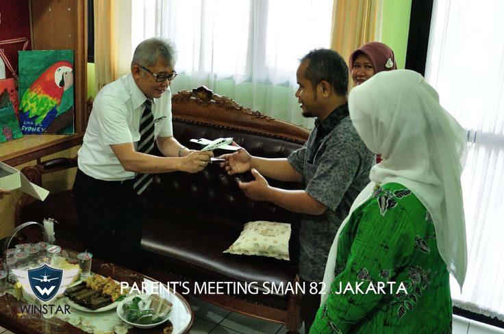 Winstar Aviation at SMAN 82 Jakarta