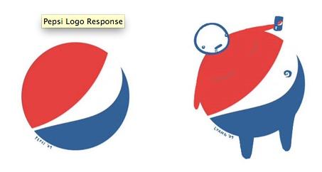 Pepsi redesign logo. Love the mocking aspect of this.: Pepsi Redesign, Redesign Logos