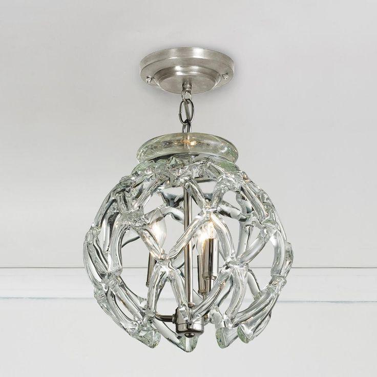 Crystal Web Globe Pendant Light - Shades of Light
